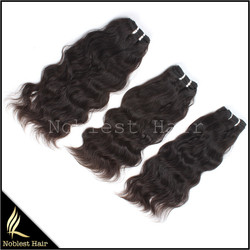 3 bundles/lot for the Indian remy hair machine made wefts which can be send in 24 hours any texture color length are available