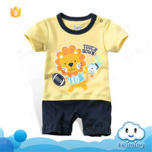 SR-274B 2017 clothing manufacturers summer baby romper set clothes infant jumpsuit cute latest baby romper