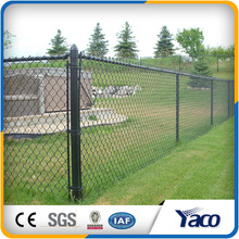 Playground Chain Link Fence, Black Vinyl Coated Chain Link Fence, heavy chain link fence