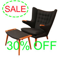 Promotional chaise Hans Wegner Papa bear chair