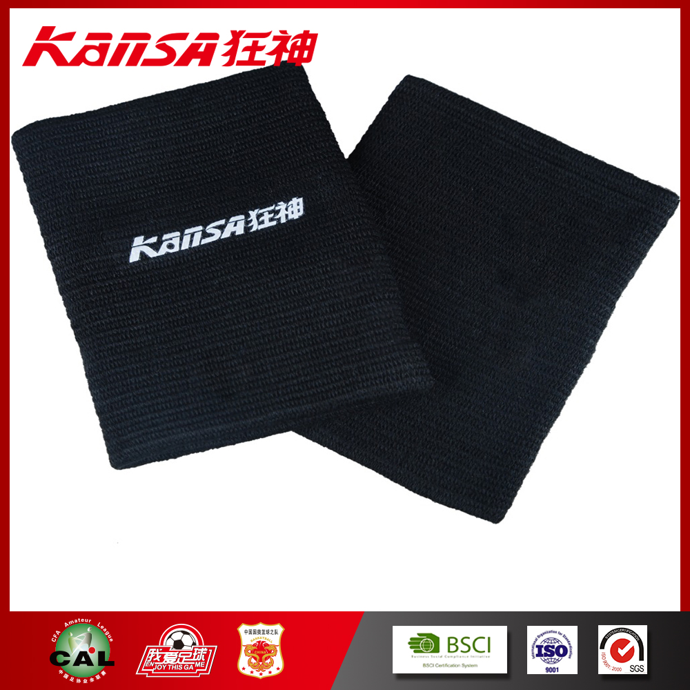 Kansa-0072 Factory Price Blue Elastic Sports Wrist Support Sleeve Protector Knitted Wrist Protector