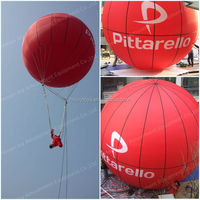 Advertising Inflatable Moored Balloon, Inflatable Ellipse Ball