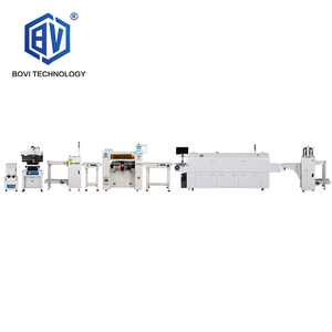 Bovi SMT Equipment 1 Year Warranty PCB Production Line Mini PNP Device Pick and Place Machine Assembly Line for LED Lamp