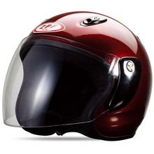 half face helmet with single visor --ECE/DOT Certification Approved
