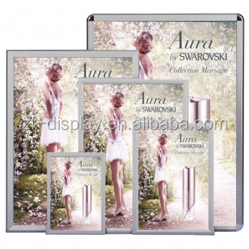 A1,A2,A3,A4 2015 new Waterproof aluminum snap frames, Advertising Outdoor Light Box