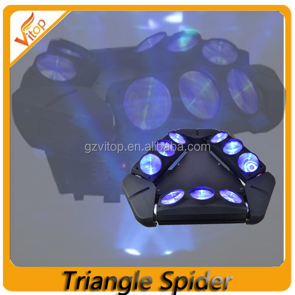 Newest design ADJ Kaos 3-Head Spider Sharpy Beam LED Moving Head Light