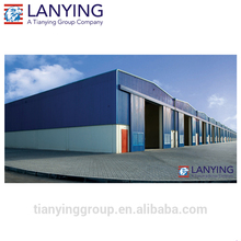 Large span workshop used industrial sheds for sales in China