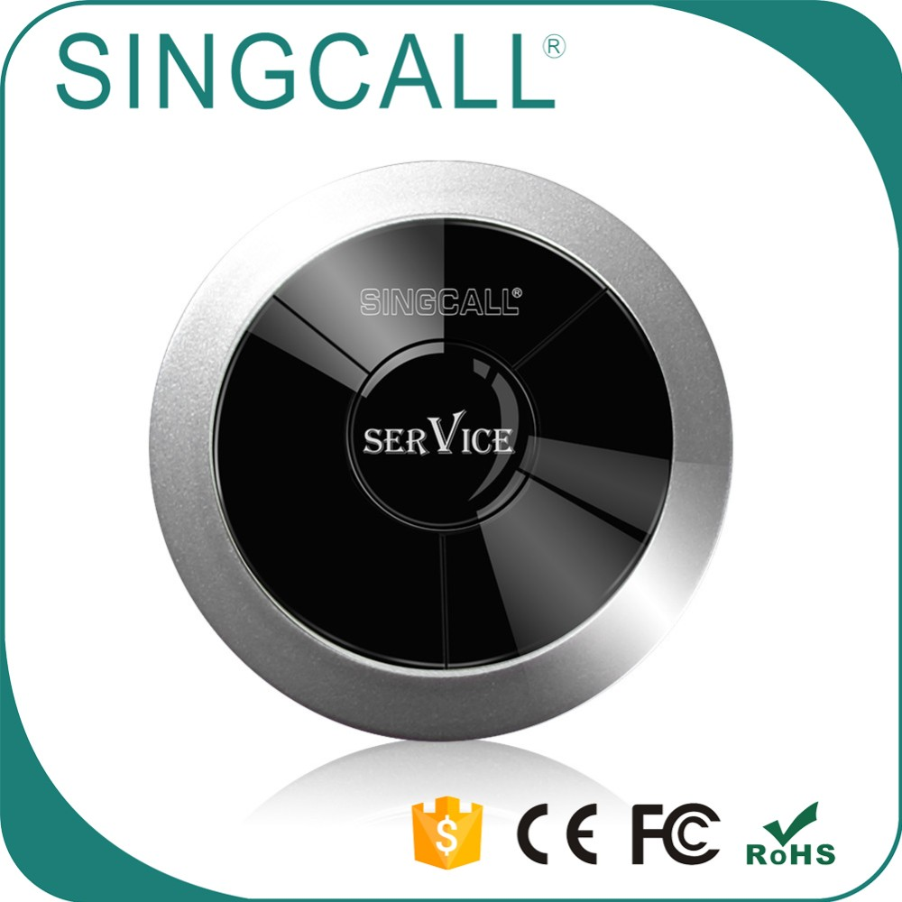 SINGCALL Wireless Nursery Paging System Nurse Call Light Waterproof Pager APE310