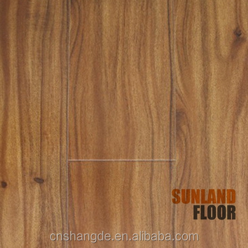 oak wood 8mm 12mm hdf wooden laminate flooring manufacturer