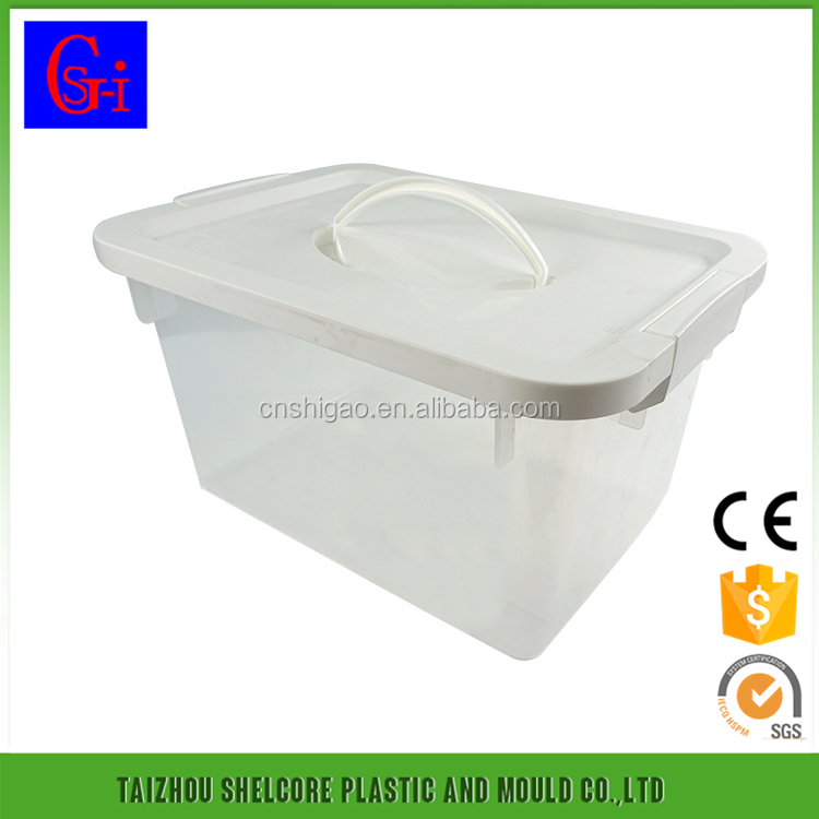 China manufacturer widely use under bed 5L plastic compartment storage box