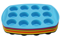 Silicone Mini Muffin Pan With Round Shape Non-Stick Bakeware