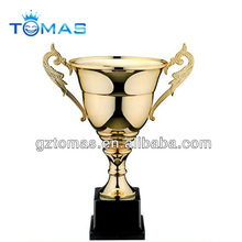 glittering traditional cup shape plastic wholesale trophy