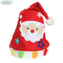 Professional factory DIY variety customized funny christmas hats