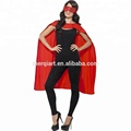 Fancy women's Polyester Satin Supergirl Cape superhero cape