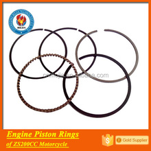 ZS200CC engine piston rings taiwan auto parts