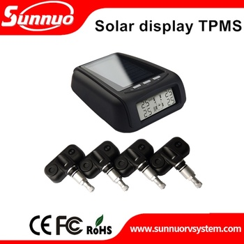 Hot selling solar power car tpms,truck tire pressure monitoring system