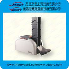 pvc id card making machine/automatic id card printer