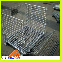 storage fold cage,warehouse storage cage,equipment storage cages