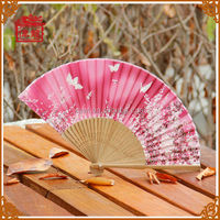 Traditional chinese gifts silk hand fan