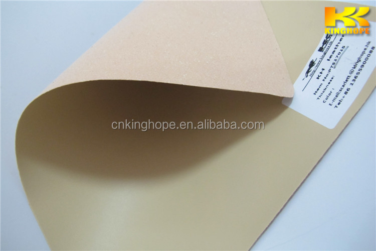 Fashion embossing synthetic pvc leather made in china factory