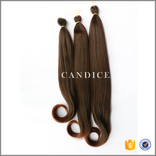 best selling synthetic fiber hair extension