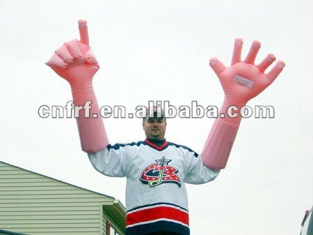 Inflatable Hand with Arm