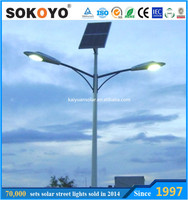 solar light street,LED Solar Powered Street Light, 6m Pole 30W LED Design
