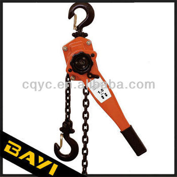 VA 0.75ton chain hand pulling block with lifting tools