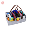 China Fashionable Felt Baby Diaper Caddy Bag For Storage
