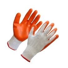 Latex palm coated gloves, coated wok gloves, safety coated gloves(Shandong Brand)