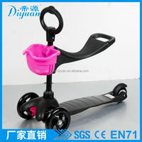 Baby sports learn walking three wheel scooter 3 in1 scooter function mini kick scooter sale kick scooter