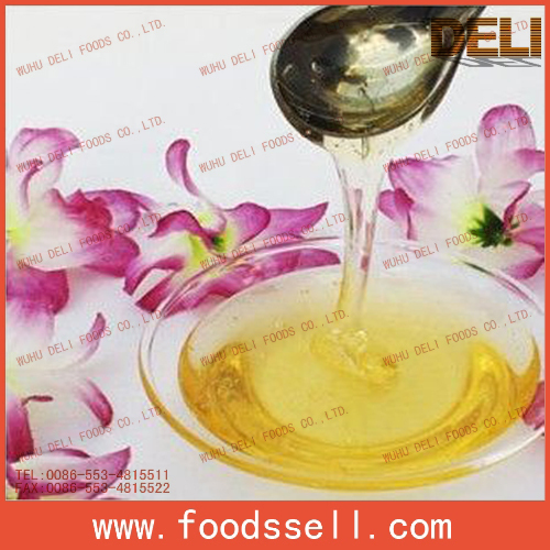Natural Extract Light Amber Honey in Bulk for Sale
