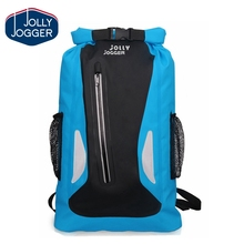 Reflective strip Lightweight travel swimming waterproof backpack dry bag
