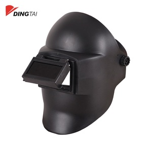 Electric welding mask with strong protection performance