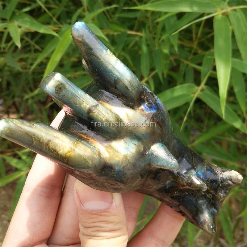 Small Quartz Crystal Carved Dragon Skulls Labradorite Sculptures For Sale Dragon Skull Carving
