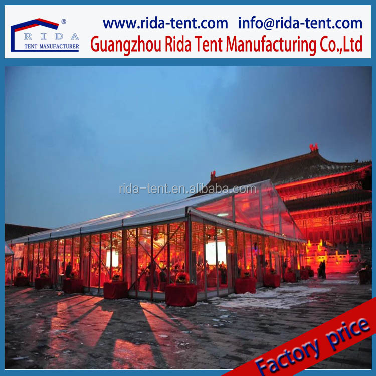 New Stylish Outdoor 15m x 20m Arc Marquee Tent for Wedding Events