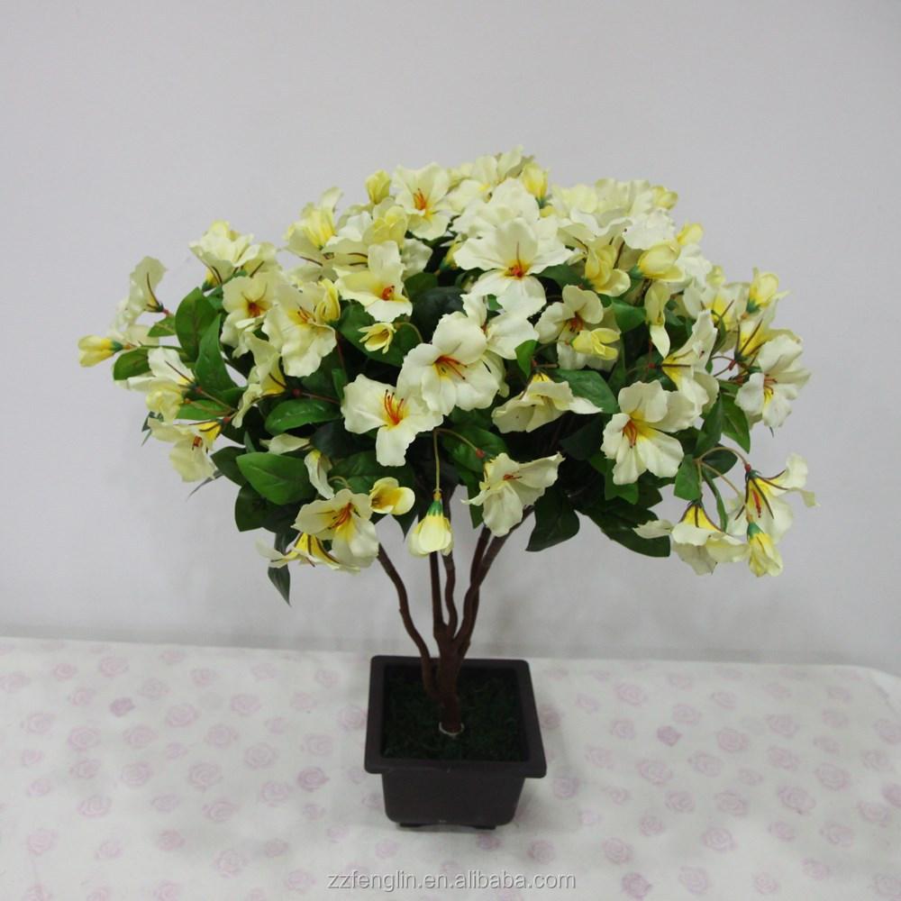 Outdoor Decorative Artificial Flowers Wholesale Silk