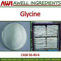 High quality Food grade Glycine, CAS#56-40-6
