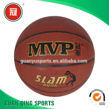 GY-D036 New arrival Durable PU Leather basketball customized