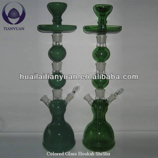 colored pyrex glass shisha hookah wholesale