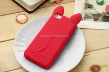 2015 For iPhone 5 5s Fashion Cat Ear Silicone Skin Soft Phone Case
