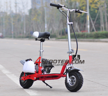 4 stroke folding gas mobility scooter for adult