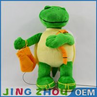 Customize plush Humanoid turtle toy super soft sea animal toys stuffed sea turtle toy for children