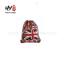 Normal plain 80gsm non woven fabric drawstring printed bags