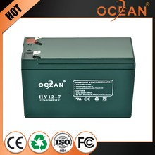 New product promotion 12V best quality control 7ah the queen of quality external storage battery