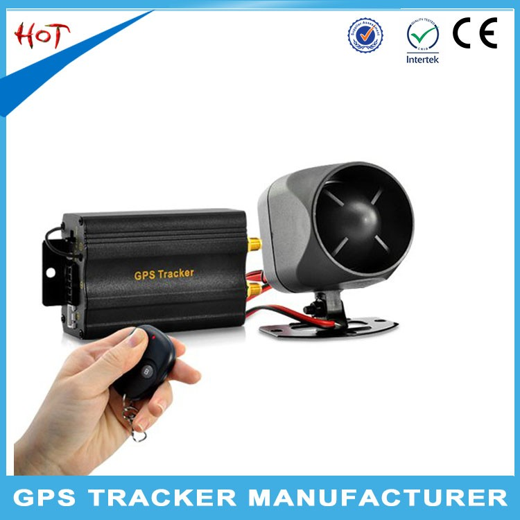 gps sms gprs tracker vehicle tracking system TK103 with fuel sensor