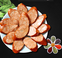Vegetarian meat sausage leisure snacks soybean protein vegetarian food