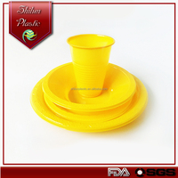 Plastic Party Plate sets/ beer pong cup/ Wholesale Dinnerware for Wedding Made in China