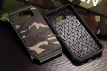 For samsung galaxy s7 Camouflage case with retail packing