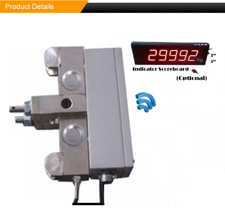 OEM LED Display Weighbridge Load Limiting Device Crane Side Compression load cell